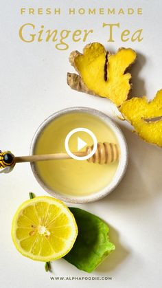 How to make ginger tea with fresh ginger and leftover ginger juice pulp - an excellent immune-boosting tea with less than five ingredients and around 10 minutes to make! Best Egg Recipes, Healthy Indian Recipes, Fun Baking Recipes, Tea Recipes, Cooking Recipes, Ginger Food, Ginger Juice, Fresh Ginger, Homemade Ginger Tea