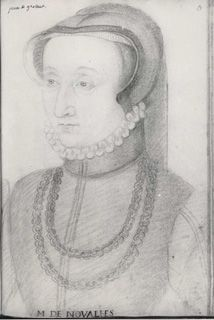 Jean, Follower of, c.1564 Clouet (16th Century), Jeanne de Gontaut (Click for larger version of this image)