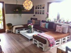Couch aus Paletten