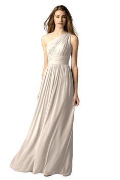 Watters 7546i Bridesmaid Dress in Neutral in Chiffon