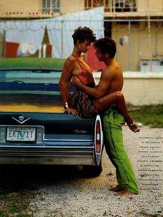 Vogue Italia | February 1989 | Linda Evangelista by Steven Meisel