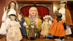 """Dollmastery Vignette Series Presents the Blackler Collection and Early American Cloth Dolls Part 2 """"An American Childhood"""" October 4th-6th, 2014"""