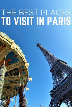 DIY- The Best Places to Visit in Paris