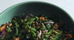 We still love kale's cruciferous crunch, but our latest leafy obsession is mustard greens. Vegetarian Recipes, Cooking Recipes, Healthy Recipes, Healthy Foods, Cooking Mustard Greens, Fresh Bowl, Cooking Roast Beef, Toasted Pumpkin Seeds, Sweet Potato Recipes