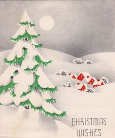 I bought a stack of lovely Christmas cards postmarked 1938 and 1939. A typographer's dream.    Wonderful spot color and halftone. Swoon.
