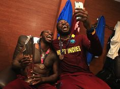 The Epic West Indies Post Match Celebrations.