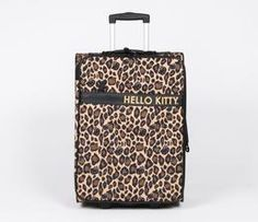 Hello Kitty Luggage: Leopard