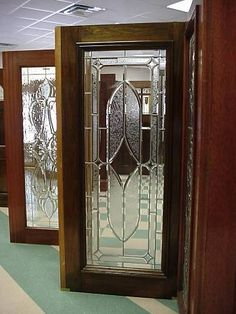 Beveled glass- full bourbon street door & Estate Exterior Wood Front Entry Doors DbyD-1055 | New Home Ideas ... Pezcame.Com