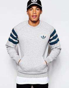 Bild 1 von Adidas Originals – Schmal geschnittenes Sweatshirt
