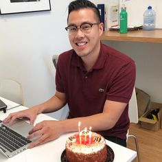 Happy Birthday to one of our awesome physios, Lester! 🎉 Can we have a slice of that delicious looking cake? Polo Shirt, Happy Birthday, Cake, Awesome, Mens Tops, Shirts, Instagram, Happy Aniversary, Pie Cake