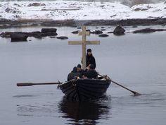 still from the beautiful film 'ostrov'