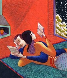 Reading and Art: Lorenzo Mattotti