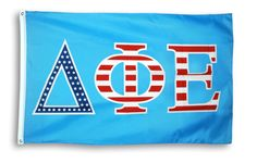 Delta Phi Epsilon 3 X 5 USA Flag from GreekGear.com