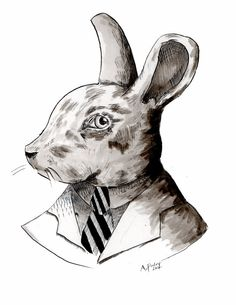 Mister Bunny Illustration