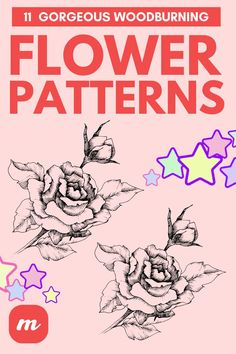 Patterns In Nature, Beautiful Patterns, Flower Patterns, Burning Flowers, Pyrography Designs, Floral Pattern Wallpaper, Different Types Of Flowers, Poppy Pattern, Rose Icon