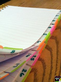 Teaching in Room 6: Keeping Track of those Behaviors in a notebook to put labels in