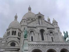 Basilica of the Sacré Cœur, Montmartre, Paris.