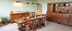 Le Couloume breakfast room