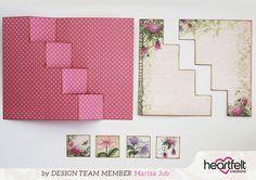 Enchanted Mum Four Step Card Tutorial by Marisa Job | Blog Post