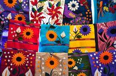 Bordados Chiapanecos. México  Julio del 2012