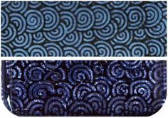 Fuseworks Dichroic Spiral 90 COE Fusible 2-Inch-by-3-Inch Glass, Violet, 1-Pack Fused Glass Supplies, Glass Cutter, Metallic Luster, Dichroic Glass, Black Glass, Colored Glass, Clear Glass, Decorative Boxes, Ebay