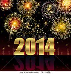 ◄Happy New Year 2014►fractal