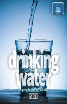 Drinking Water brochure cover for Minnesota Department of Health designed by The Design Company Brochure Cover, Brochure Design, Human Services, Design Firms, Drinking Water, Have Fun, Cool Stuff, Minnesota, Health
