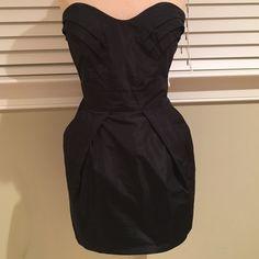 Black BCBG Dress Black BCBG Dress. Price negotiable. BCBG Dresses Strapless
