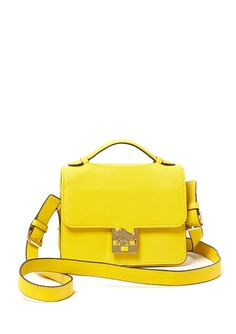Yellow Crossbody bag! VINCE CAMUTO #bright colors!!!!