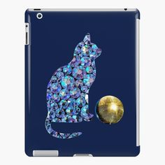 'Disco cat and disco ball' iPad Case/Skin by StefaniaAlina Lip Designs, Disco Ball, Cat Gifts, Ipad Case, My Arts, Product Launch, Phone Cases, Art Prints