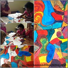 Creating-Cubism-Art-with-Kids.jpg (525×525)