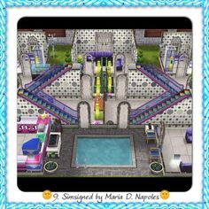 #Sims #Freeplay I like the stairs in the hallway