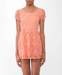 Lace Fit & Flare Dress   FOREVER21 - 2000048120
