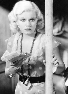 kittypackards:  Jean Harlow in Red Dust (1932)