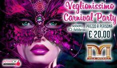 Veglionissimo Carnival Party @ Villa Imperiale