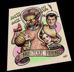 Hey, I found this really awesome Etsy listing at https://www.etsy.com/listing/256833402/we-are-your-friends-tattoo-art-print