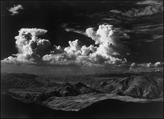 ansel adams images | Click here for a nice photo of thunderheads by Ansel Adams.