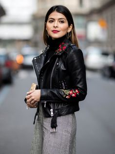 From denim to leather jackets, these bloggers show us five easy ways to incoprprate embroidery into our spring wardrobe. Contrast an embroidered cold-shoulder blouse with distressed denim, or match...
