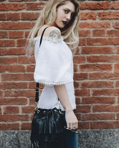 #MFW total look by @clipsofficial  Facebook & YouTube #ChiaraLosh
