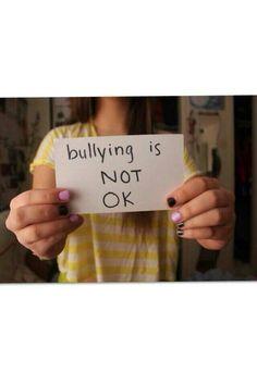 No Bullying - Stop bullying