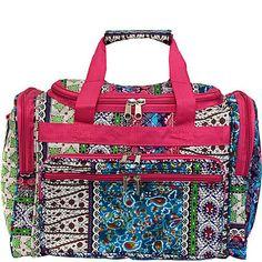 "World Traveler Artisan 16"" Shoulder Duffle Bag"