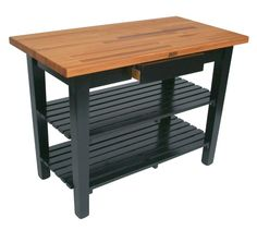 Appalachian Red Oak Country Work Table. $496.00. Kitchen island