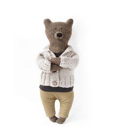 Paul The Bear. Primitive teddy Bear.