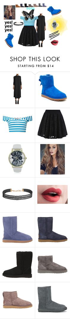 """The Dark Cold Breeze"" by galaxy-moon-stars ❤ liked on Polyvore featuring Eileen Fisher, UGG, Miss Selfridge, Geneva, Humble Chic, UGG Australia, ugg and contestentry"