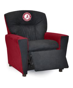 Look at this Alabama Crimson Tide All-American Kidz Recliner on #zulily today!