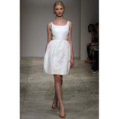 my ideal wedding dress. i like shorter dresses over longer ones and i don't want to spend a lot of money on a dress i will only wear once. i'd rather put in more $ for the honeymoon...