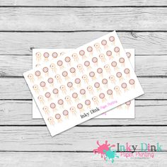 New to InkyDinkPrinting on Etsy: 60 Dream Catcher Half Sheet Planner Stickers Erin Condren Happy Planner Plum Planner Sticker Sampler EC Life Planner Limelife HS-47 (2.75 USD)