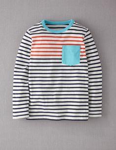 for my boys - Stripy Pocket T-shirt @bodenusa