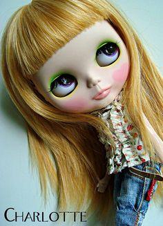 My girl Charlotte by maryPOP(!), via Flickr