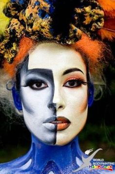 Halloween Make Up... Picasso Face